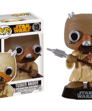 Star Wars POP! Vinyl Wackelkopf-Figur Tusken Raider Black Box Re-Issue 10 cm