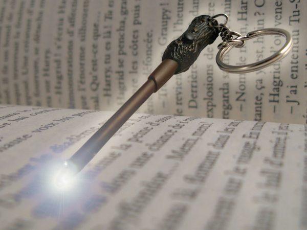 Harry Potter Varázspálca Kulcstartó