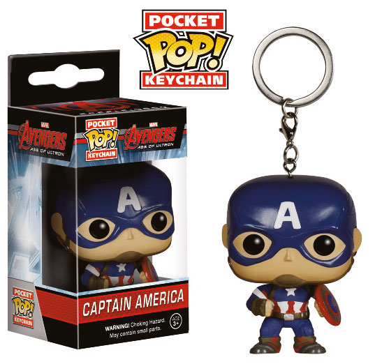 Marvel POP! Kulcstartó – Captain America