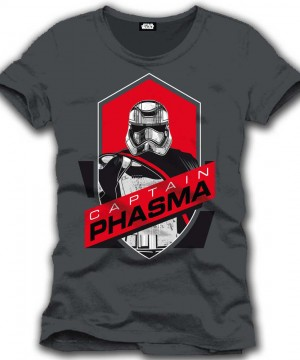 Star Wars Epizód VII póló - Captain Phasma