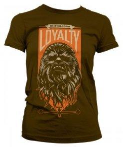 Chewbacca Loyalty Girly Tee (Brown)