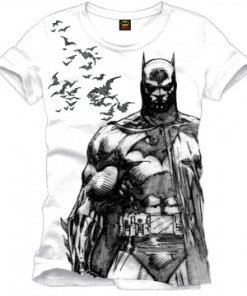 Batman T-Shirt Bats white
