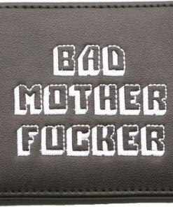 Bad Mother Fucker Wallet Black / embroidered Logo