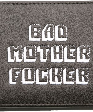 Bad Mother Fucker Wallet Black / embroidered Logo