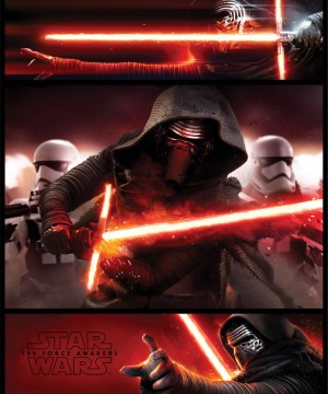 Star Wars Episode VII Mini Poster Pack Kylo Ren Panels 40 x 50 cm (5)