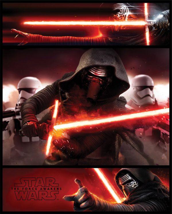 Star Wars Episode VII Mini Poster Pack Kylo Ren Panels 40 x 50 cm