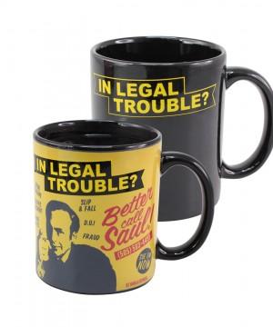 Better Call Saul Heat Change Mug In Legal Trouble