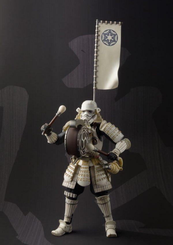 Star Wars Meisho Movie Realization Actionfigur Taikoyaku Stormtrooper Tamashii Web Exclusive 17 cm