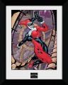 DC Comics Framed Poster Harley Quinn 45 x 34 cm