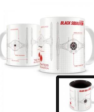 Star Wars Episode VII Mug Black Squadron