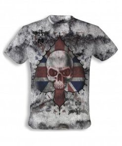 Alchemy - Ace of England Skull T-shirt