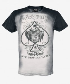 "ALCHEMY - T-SHIRT AEA ""SKULL LABEL"""