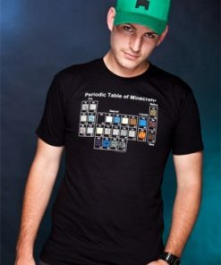 Minecraft T-Shirt Periodic Table