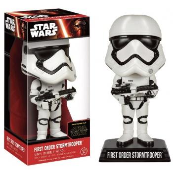 Star Wars Episode VII Wacky Wobbler Wackelkopf-Figur First Order Stormtrooper 15 cm