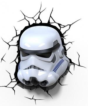 Star Wars 3D LED Light Stormtrooper