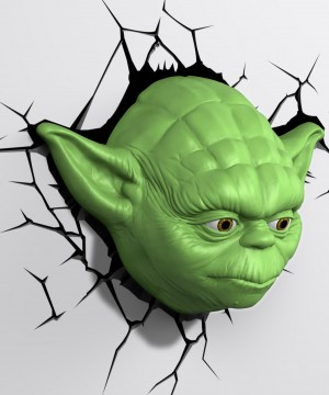Star Wars 3D LED Light Yoda