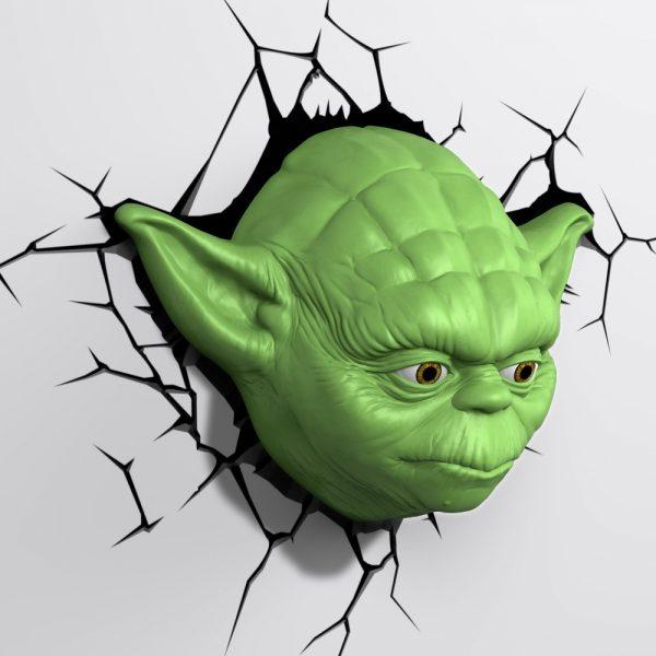 Star Wars 3D LED Light Yoda