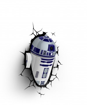 Star Wars 3D LED Light R2-D2