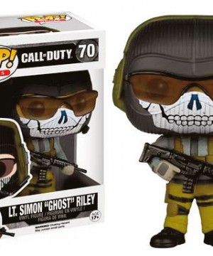 Call of Duty POP! Games Vinyl Figur Lt. Simon Ghost Riley 9 cm