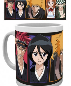 Bleach Mug Faces