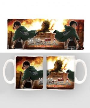 Attack on Titan Mug Duo heo Exclusive