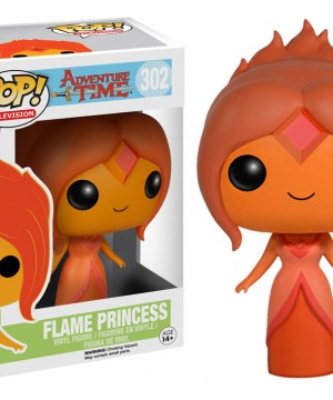 Adventure Time POP! Vinyl Figur Flame Princess 10 cm