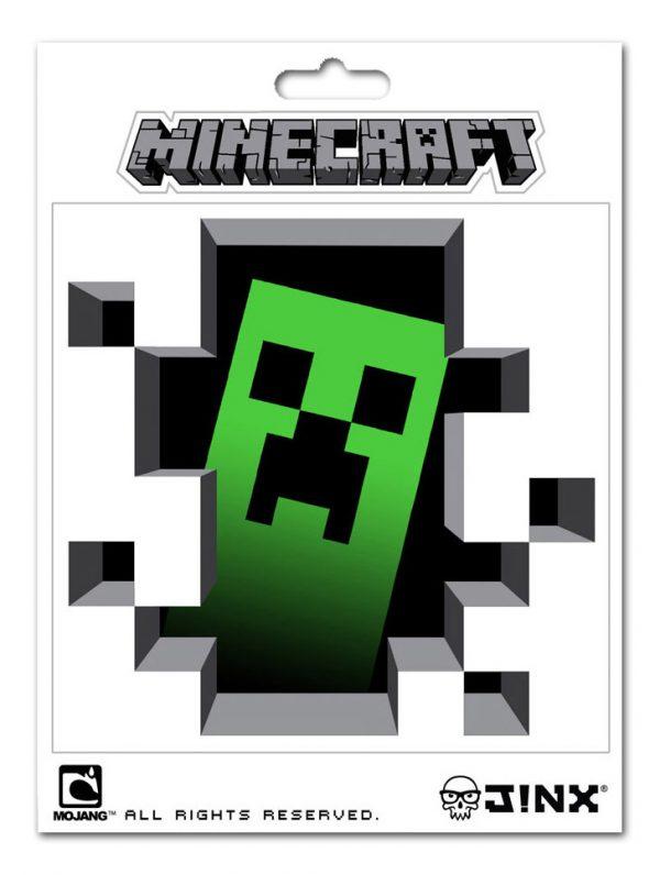 Minecraft Sticker Creeper Inside