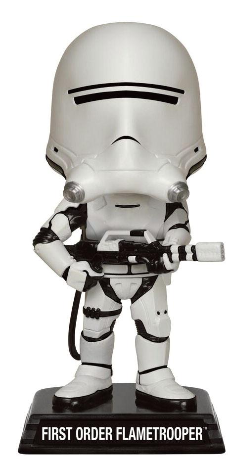Star Wars Episode VII Wacky Wobbler Bobble-Head First Order Flametrooper 15 cm