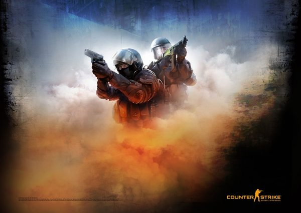Counter-Strike Global Offensive Poster Pack Blue 59 x 84 cm