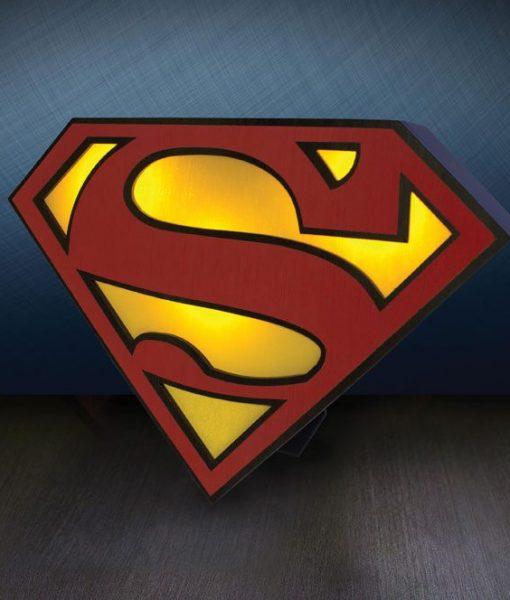 DC Comics - Superman Logo Lámpa