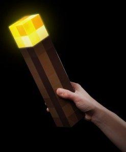 Minecraft éjjeli lámpa - Fáklya