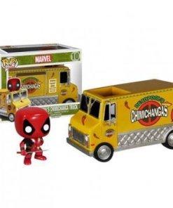 Marvel Comics POP! Rides Vinyl Vehicle with Figure Deadpool´s Chimichanga Truck 12 cm