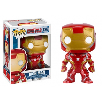 Marvel Comics - Captain America 3: Civil War POP! Figura - Iron Man