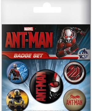 Ant-Man kitűzők
