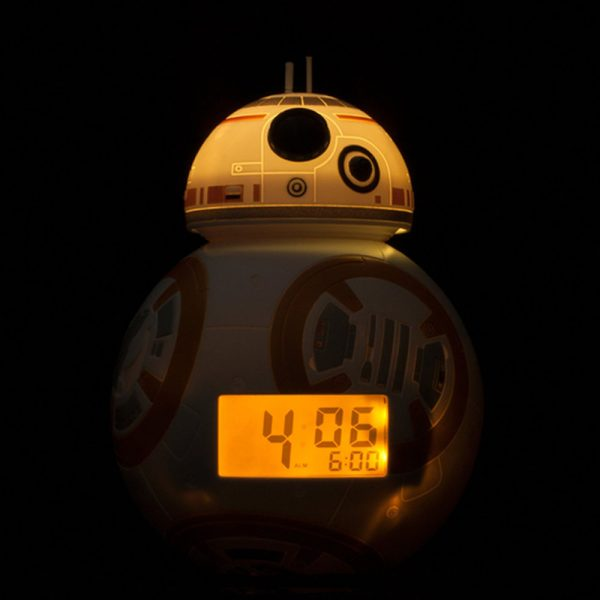 Star Wars Episode VII BulbBotz Alarm Clock with Light BB-8 23 cm