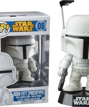 Star Wars POP! Vinyl Bobble-Head Boba Fett (Prototype) 10 cm