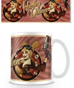 DC Comics Bombshells Mug Harley Quinn Red