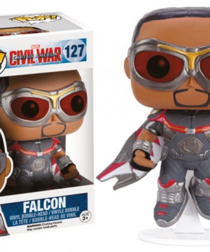 Captain America Civil War POP! Vinyl Bobble-Head Falcon 10 cm