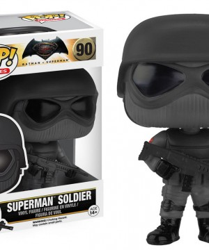 Batman v Superman POP! Heroes Vinyl Figure Superman Soldier 9 cm