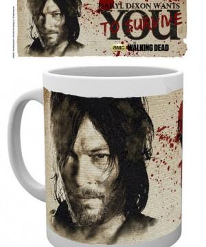 Walking Dead Mug Daryl Needs You