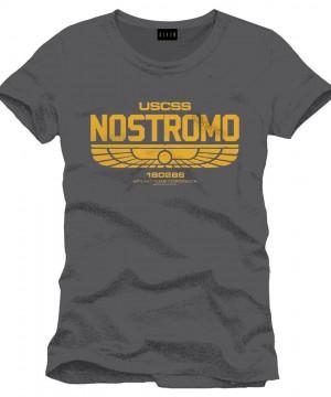 Alien T-Shirt Nostromo Logo
