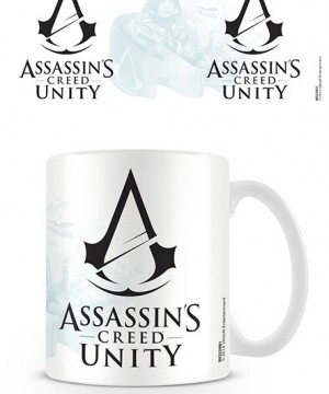 Assassin's Creed Unity Mug Black Logo
