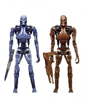 RoboCop vs. The Terminator Action Figures 2-Pack Endoskeleton 18 cm