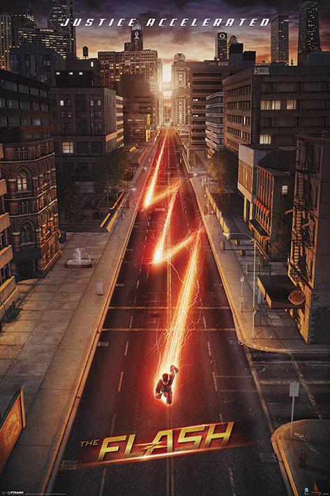 The Flash Poster Pack Lightning 61 x 91 cm