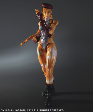 Super Street Fighter IV Play Arts Kai Vol. 2 Action Figure Cammy White Ver. Exclusive 23 cm
