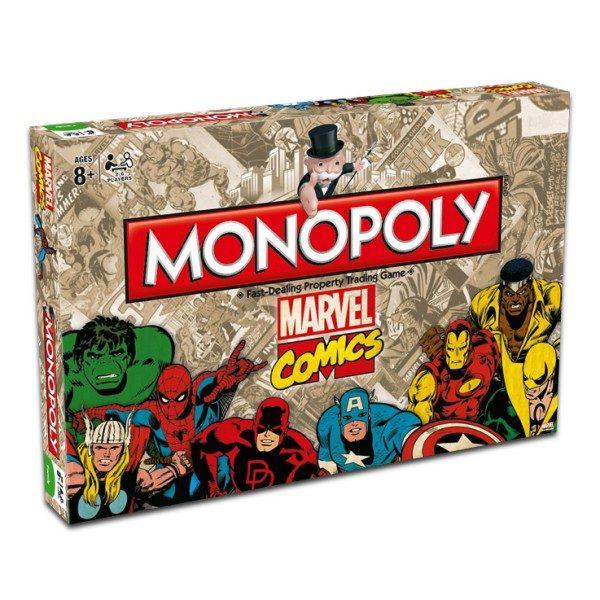 Marvel Comics Retro Monopoly Társasjáték