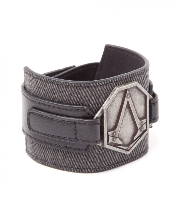 Assassin's Creed Syndicate - Wristband with Metal Patch