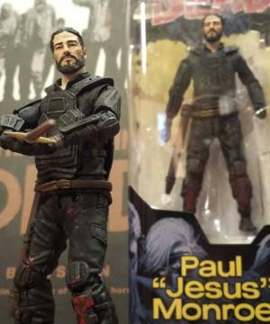 """McF - The Walking Dead Comics - Series 4 Paul """"Jesus"""" Monroe 5"""" Figure (Wrong packaging)"""