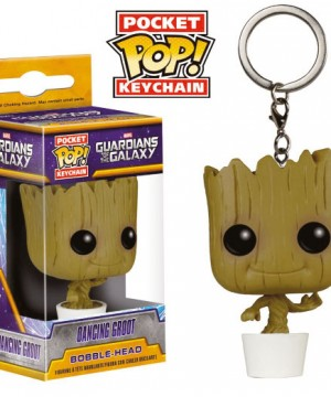Guardians of the Galaxy Pocket POP! Vinyl Keychain Dancing Groot 4 cm
