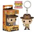 The Walking Dead POP! Vinyl Keychain Rick Grimes Blood Spatter 4 cm